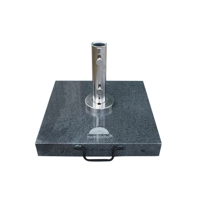 50 kg Dark Grey Granite Base with 38mm Premium Tube