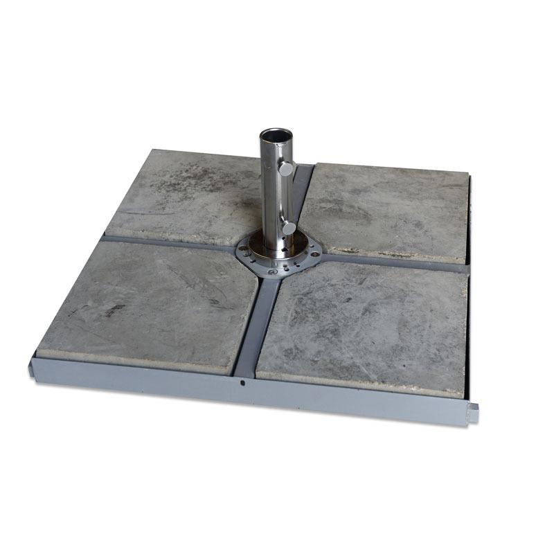 4 x 4 Metal Cross Base Frame 120kg (4 x 30kg concrete bases)