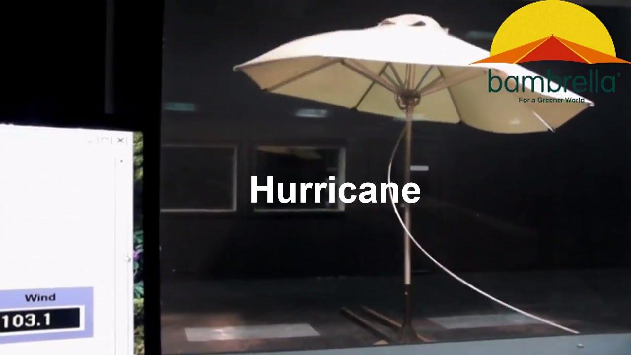 Hurricane Wind Tunnel Test